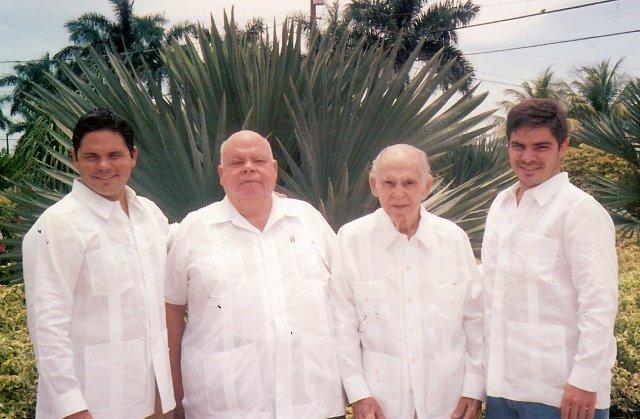 Cesar, Fernando, Fernando Sr and Fernando Jr